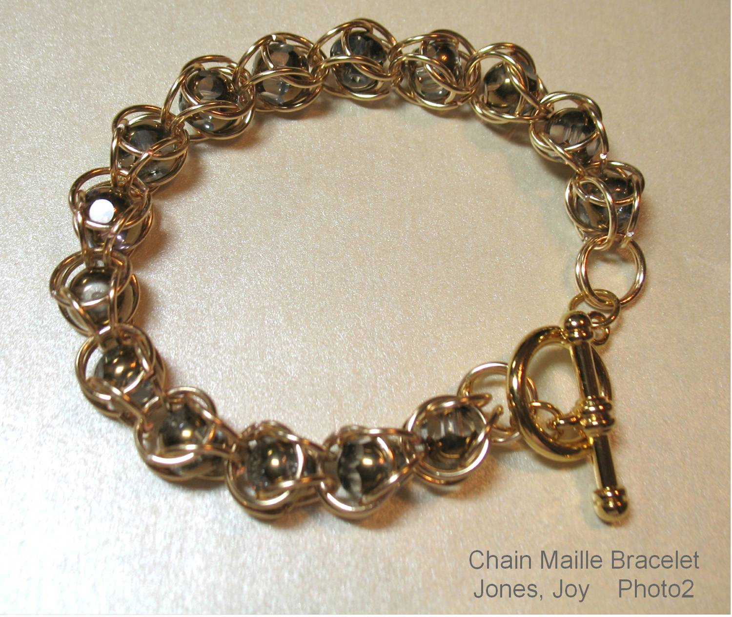 Captured Sparkles Chain Maille