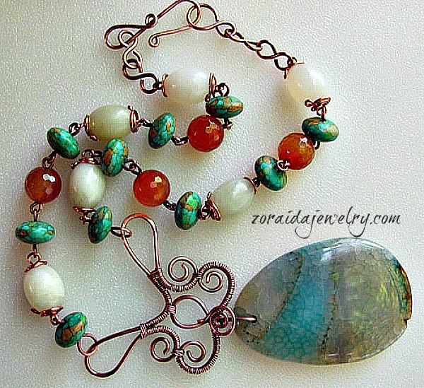 One Necklace Design; Three Statement Pieces