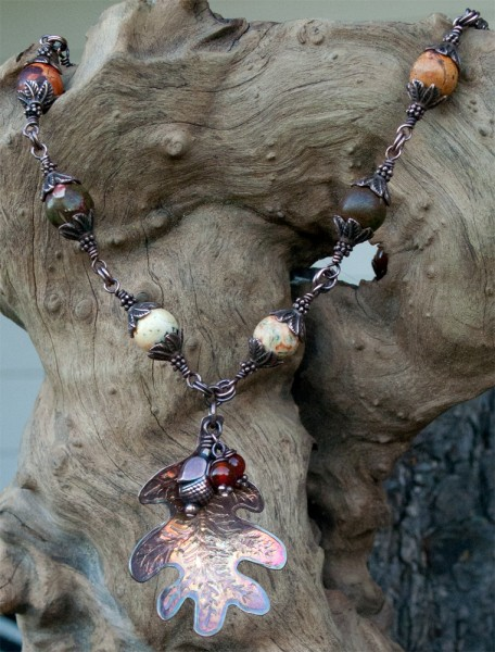 Autumn Harvest Necklace - Heather Otto