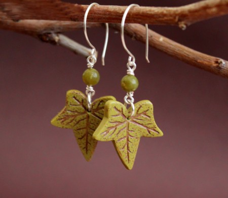Dangling Maple Leaves Jewelry Making Journal