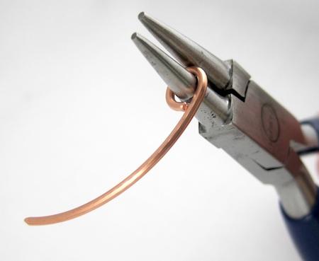 Make a plain wire loop