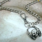 Rugged Biker Chic necklace