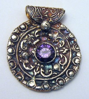 Lisel Crowley Silver Clay Pendant Jewelry Making Journal