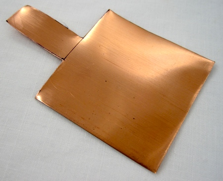 make a copper pendant