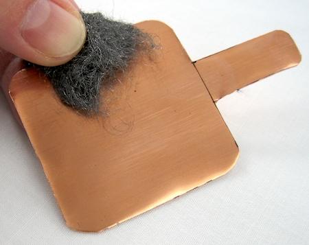 Make a Rustic Foldover Pendant