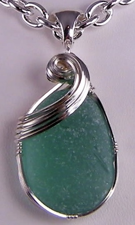 Danielle renee sea glass pendant 269450 jewelry making journal danielle renee sea glass pendant 269450 aloadofball Choice Image