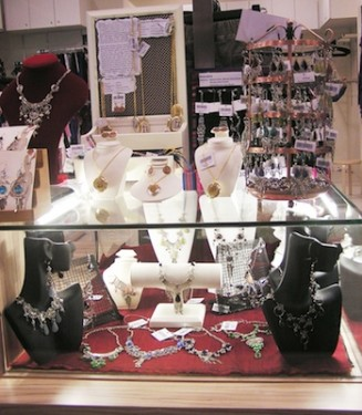 Jewelry in Glass Case in a Clothing Store – How to Make More Sales?