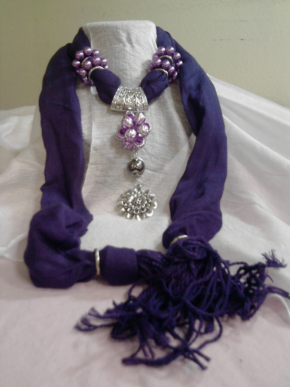 Pashminas With Decoration