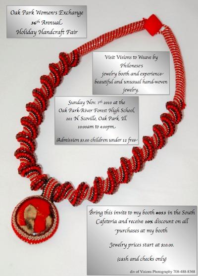 Jewelry Craft Show Flyer