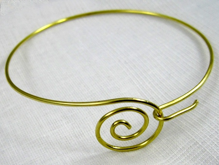 Zen Spiral Bracelet Tutorial