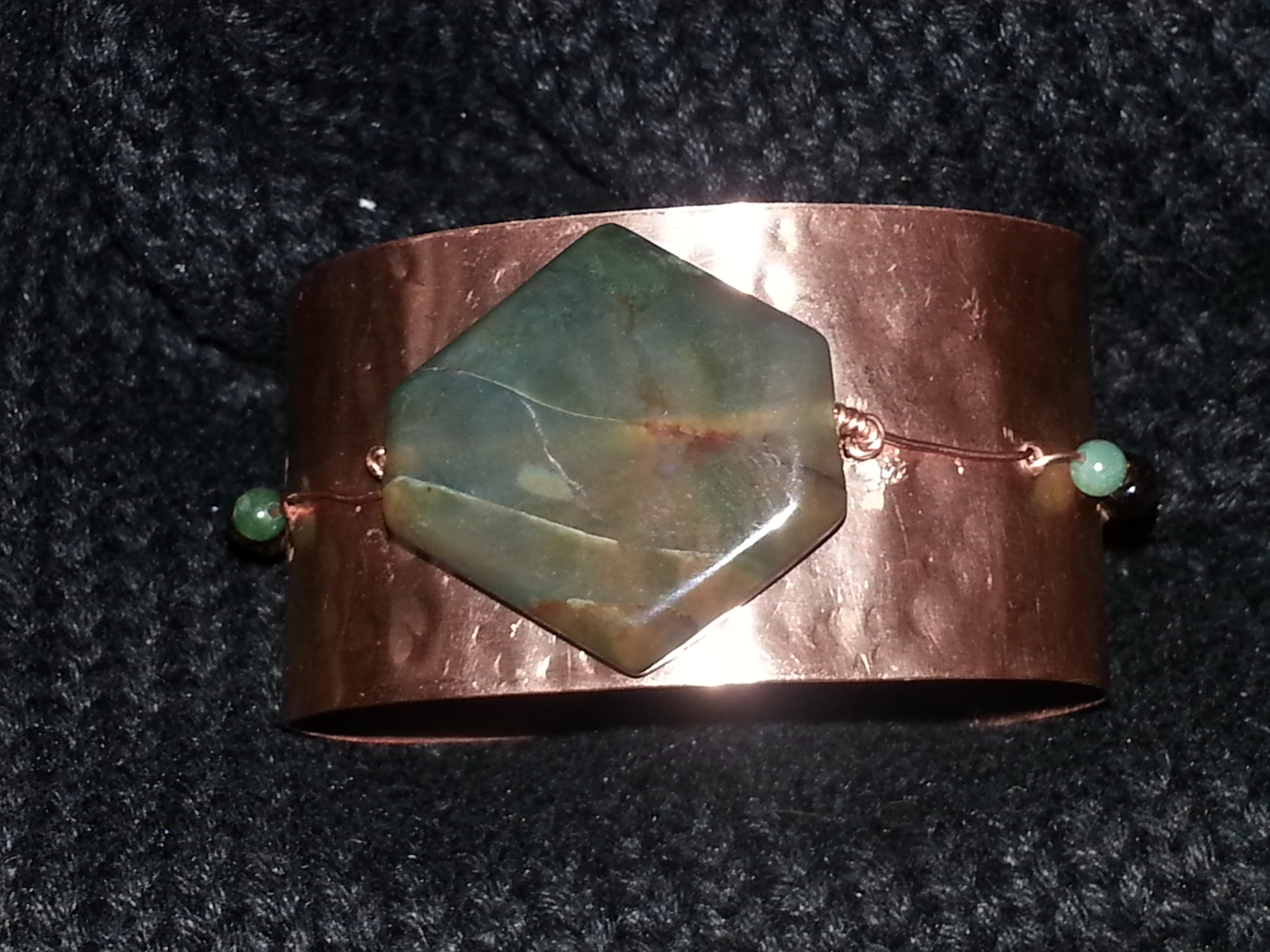 My First Copper Cuff Project