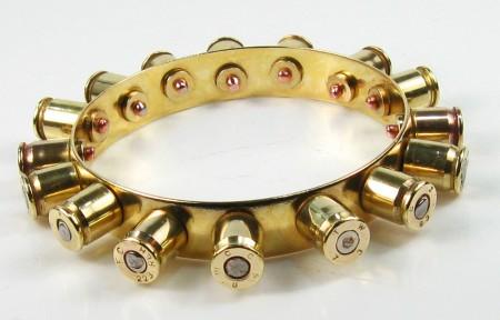 Recycled Bullet Shell Bracelet