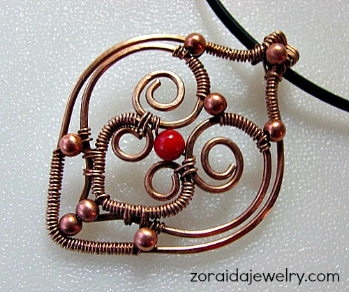 Hearts of Wire Jewelry
