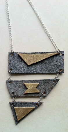 Irregular Shapes Necklace