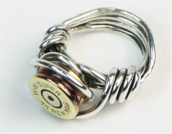 Custom Bullet Shell Ring