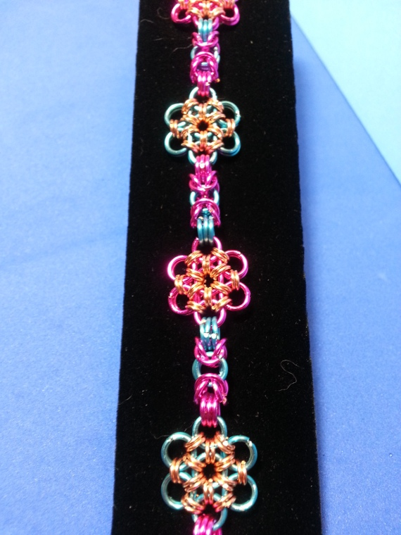 Favorite Flower Chainmaille