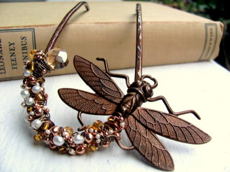 Dragonfly Hair Fork