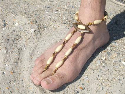 Island Accent Men's Barefoot Sandal
