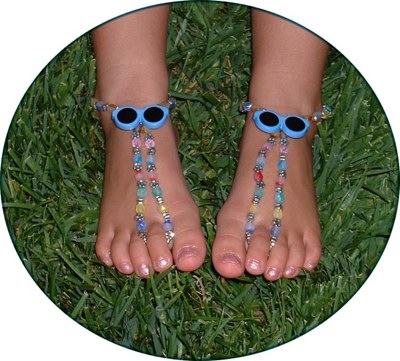 childs bottomless sandals
