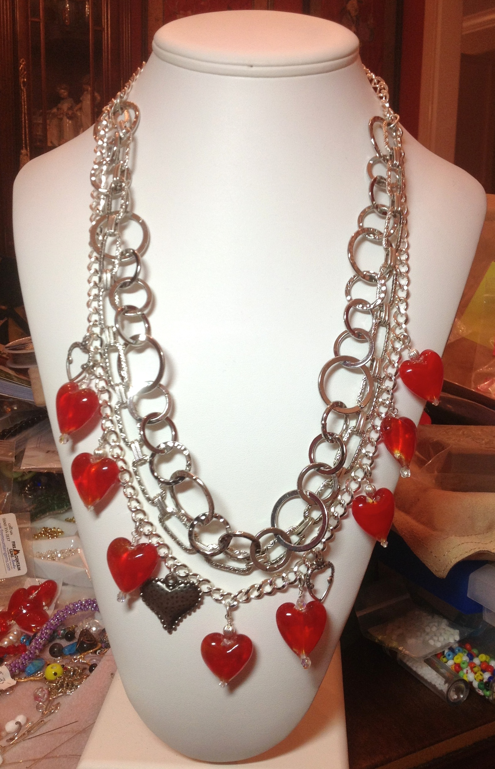 Glass Hearts on a Chain: Stepping Outside My Comfort Zone