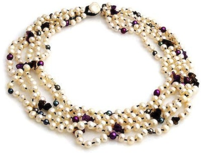 Pearl Dream Necklace by Maria Hansford