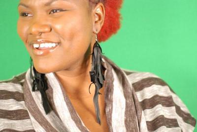 Tasha LaRae the singing earring lady