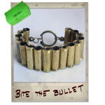 Bullet Bracelet made out of real .32 Magnum bullets! For men and women.