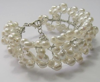 Triple Echo bracelet by Sue Graham