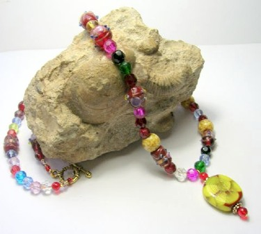 Calypso necklace by Sue Graham