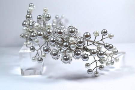 Antoinette Bridal Vine Headband