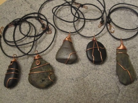 Treasures From The River Wire Wrapped Stones Jewelry Making Journal