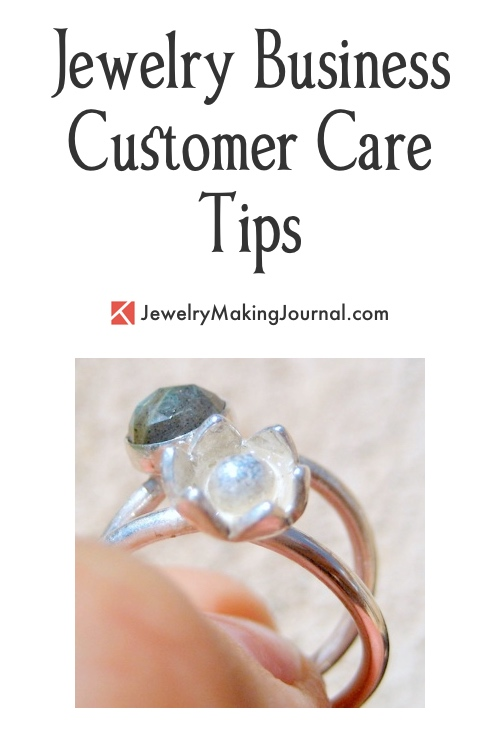 Jewelry Business Customer Care Tips by Aileen Wong  - featured on Jewelry Making Journal