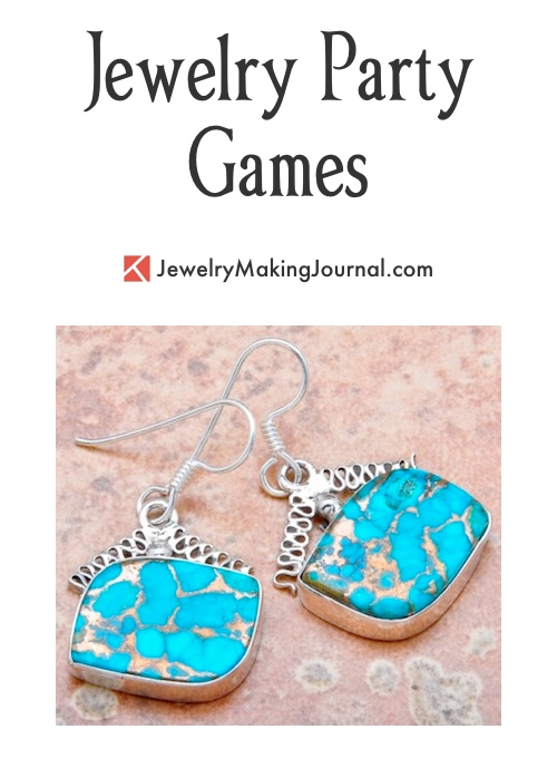 Jewelry Party Games  - Discussion on Jewelry Making Journal