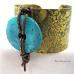 Three Fast, Easy Cuff Bracelet Makeovers - Tutorial by Rena Klingenberg