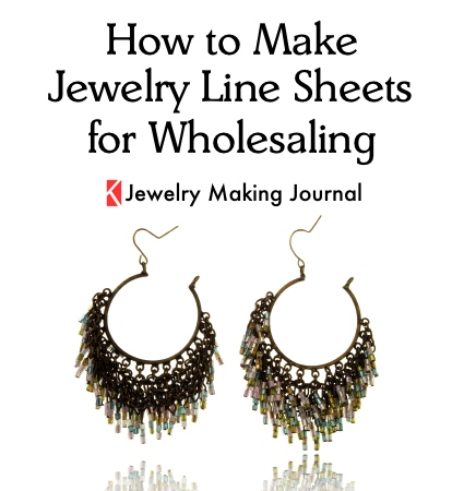 How to Make Jewelry Line Sheets for Wholesaling - Jewelry Making Journal