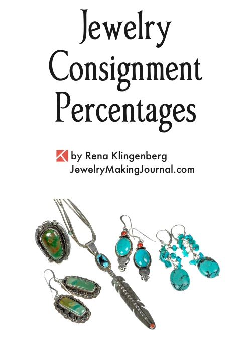 Jewelry Consignment Percentage, by Rena Klingenberg, Jewelry Making Journal
