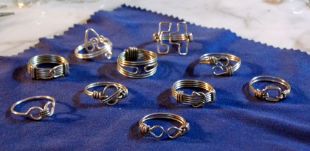 Guy S Wire Wrapped Pinky Rings Jewelry Making Journal