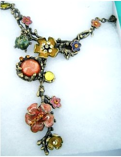 Necklace from the Peyton's Place line by Leslie Easte.