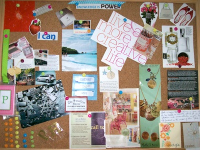 Setting Your Jewelry Business Goals – Create a Vision Board!