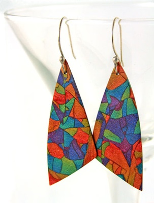 Blend and switch earrings by Cindy Lietz