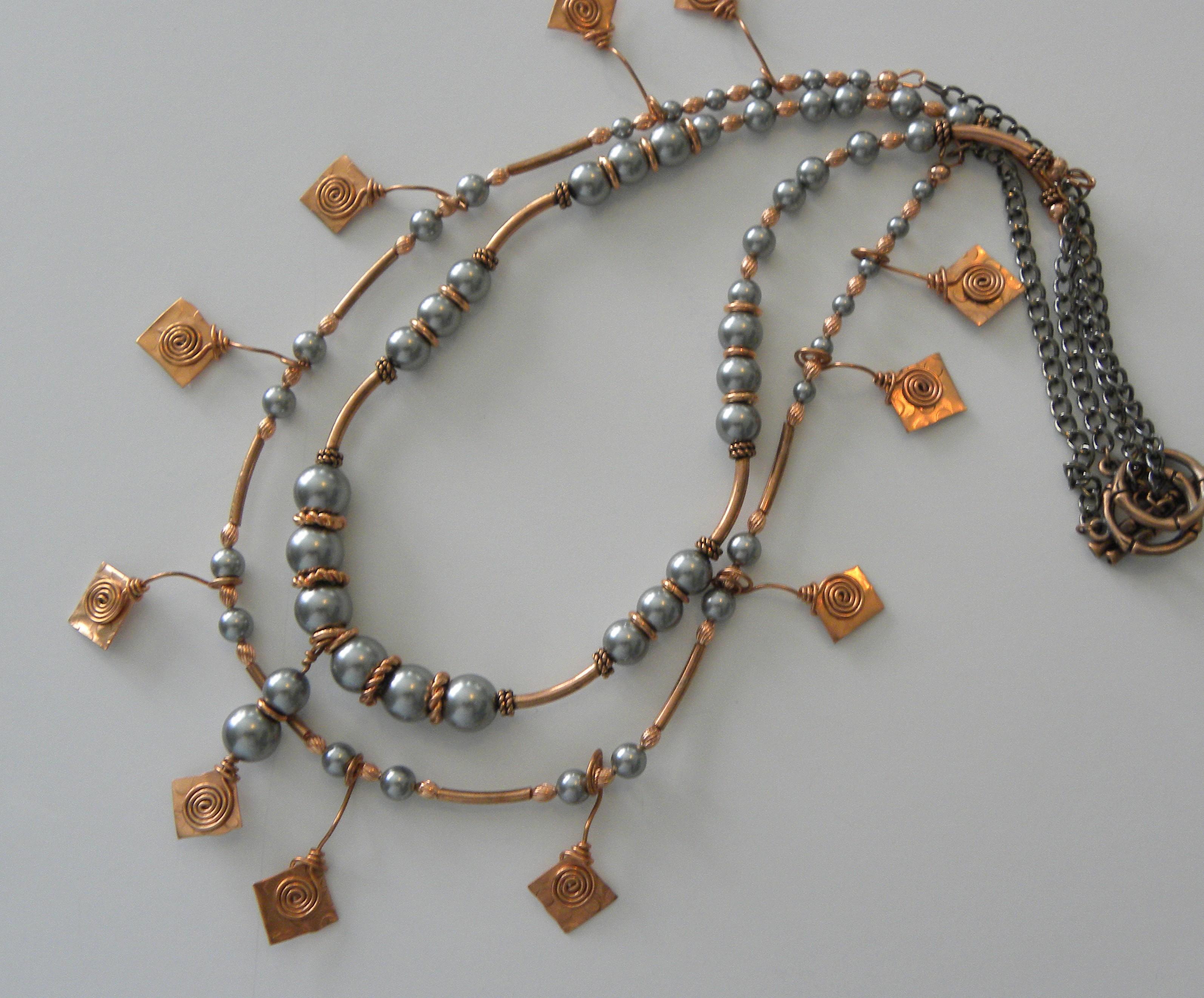 Pearls & Copper 2Fer