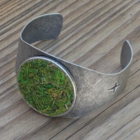 Moss Cuff Bracelet