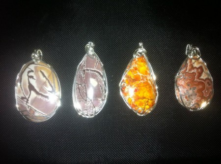 I do some handmade pieces and retail jewelry