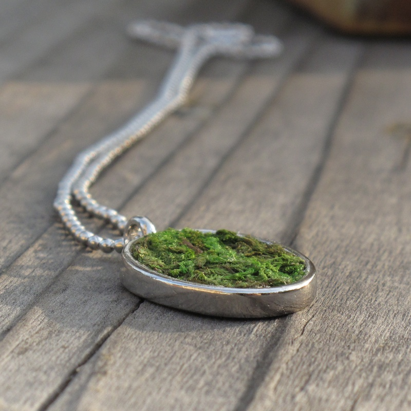 Growing Moss Jewelry