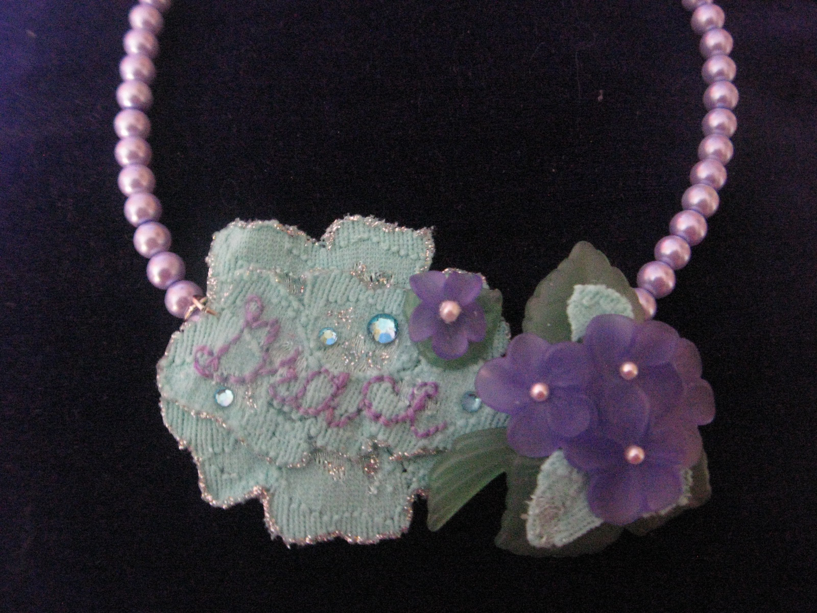 """Easter """"Grace"""" Necklace"""