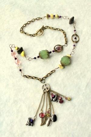 Earthen Treasure Necklace by Rups