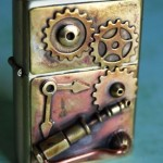Brass Steampunk Lighter