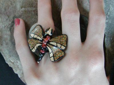Butterfly Ring - Rosanna Cappellano
