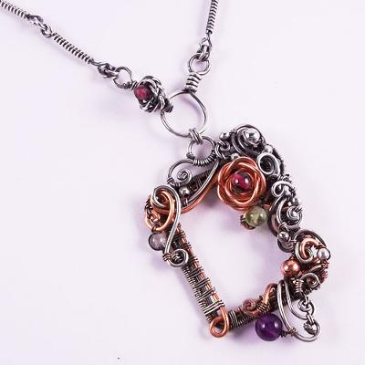 Dark Spring Necklace