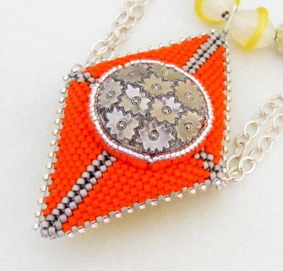 doublesided-neon-geometric-beaded-bead-pendant-21618370